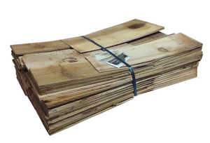 Wood Roofing Medium Cedar Shakes Medium Hand Split 24 In Per Bundle