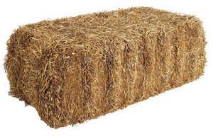 Sutherlands STRAW Straw Bale