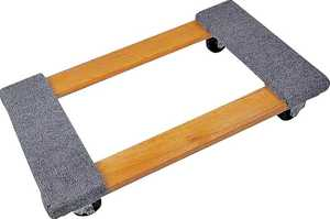 ProSource TC-500 1000-Pound Capacity Wood Furniture Dolly
