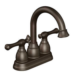 Flo Control Faucets F51A1063RW Two Handle Lavatory Faucet In Oil-Rubbed Bronze