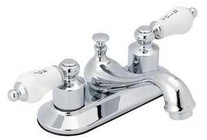 Flo Control Faucets F5111012CP 2-Handle Chrome Lavatory Faucet