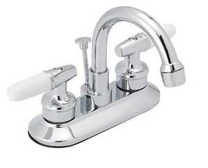 Flo Control Faucets F6026200CP Double Handle Lavatory Faucet