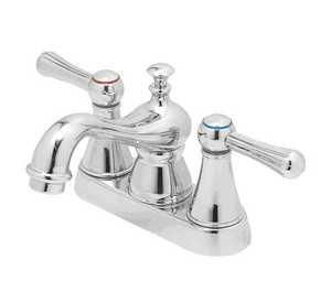 Flo Control Faucets F5111026CP Double Handle Lavatory Faucet
