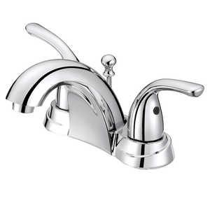 Flo Control Faucets F5111009CP 2-Handle Chrome Lavatory Faucet Chrome