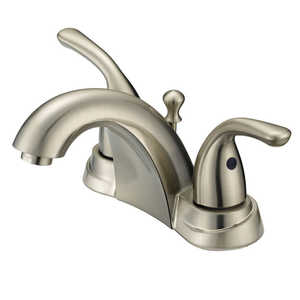 Flo Control Faucets F5111009NP 2-Handle Brushed Nickel Lavatory Faucet
