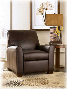 Signature Design By Ashley 2770203 Maguire Brown Low Leg Power Recliner