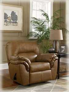 Signature Design By Ashley 4130225 Warren Rocker Recliner In Nutmeg