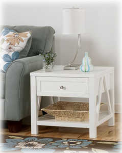Signature Design By Ashley T397-2 Kailah Square End Table