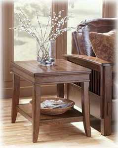 Signature Design By Ashley T504-3 Kelvin Hall Rectangular End Table