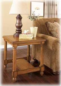 Signature Design By Ashley T530-3 Holfield Rectangular End Table