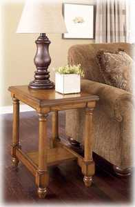 Signature Design By Ashley T530-7 Holfield Chairside End Table