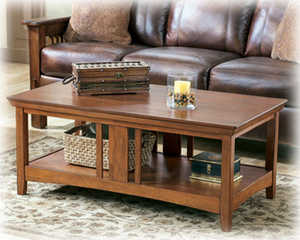 Signature Design By Ashley T545-1 Prairie View Rectangular Cocktail Table