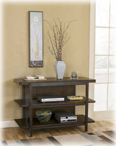 Signature Design By Ashley T693-4 Shelterham Console Sofa Table