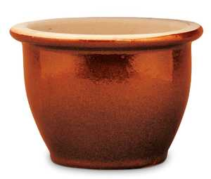 New England Pottery 100019825 15-Inch Copper Penny Pickle Pot