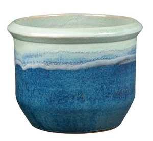 New England Pottery 100019850 Jackson Pot Apple Dynasty 7.5 in