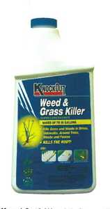 GENERIC CHEMICAL 342054 Knock Out Weed & Grass Killer Concentrate 32 oz