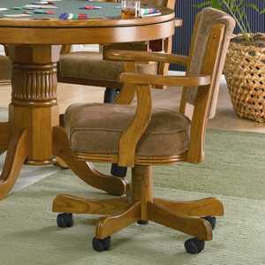 Coaster 100952 Mitchell Upholstered Arm Game Chair