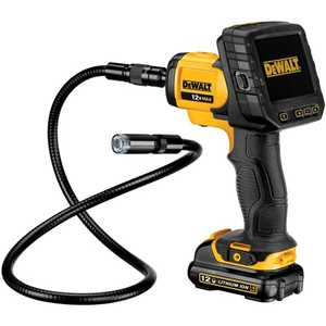 DeWalt DCT410S1 12v Max 17mm Inspection Camera With Wireless Screen Kit
