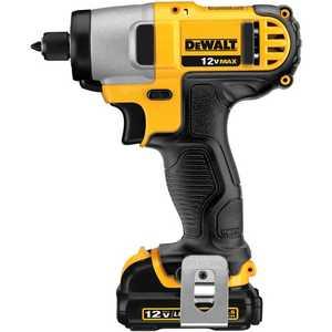 DeWalt DCF815S2 12v Max 1/4 In Impact Driver Kit
