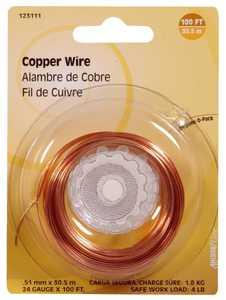 Hillman 123111 24 Gauge - Copper Wire