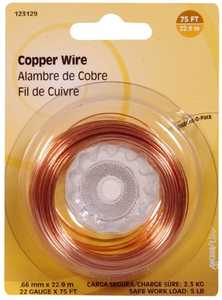 Hillman 123129 22 Gauge - Copper Wire