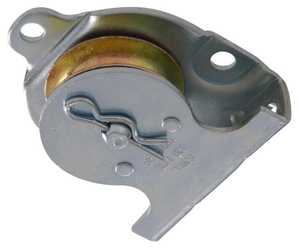 Hillman 852497 1-1/2 in Heavy Duty Wall/Ceiling Mount Single Sheave