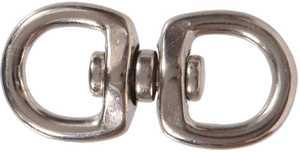 Hillman 321540 5/8 x 2-1/2 in Nickel Plated Double Round Swivel Eye