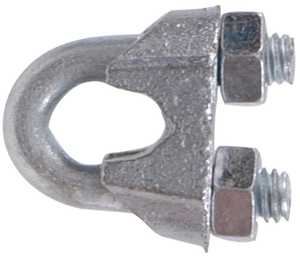 Hillman 321744 5/8 in Zinc Plated Wire Rope Clip