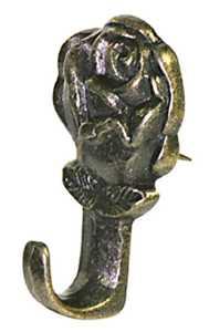 Hillman 122292 Push Pin Hanger, Rose