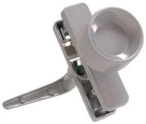 Hillman 852060 Silver Knob Latche