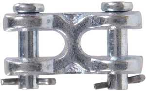 Hillman 322046 5/8 in In. Hot Dipped Galvanized Forged Steel Double Clevis Link - Grade 43