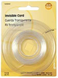 Hillman 123002 15.0 Lb Invisible Cord