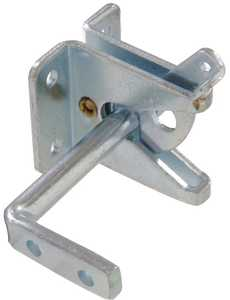 Hillman 852758 Gate Latch For Outswinging Gate Zinc Plated