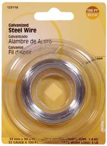Hillman 123118 32 Gauge - Galvanized Wire
