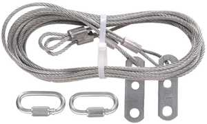 Hillman 852129 1/8 in X 8 ft 8 in Galvanized Cable