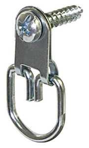 Hillman 122318 Large D-Ring Zinc Hanger - Flat & D-Ring Hangers
