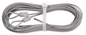 Hillman 852127 1/8 in X 12 ft Galvanized Cable