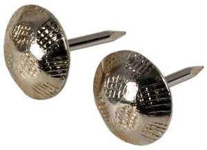 Hillman 532458 Hammered Hd. Nickel Plated Furniture Nail