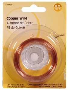 Hillman 123128 20 Gauge - Copper Wire