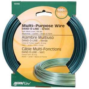 Hillman 122100 Dand-O-Line Green Fiber Core Wire