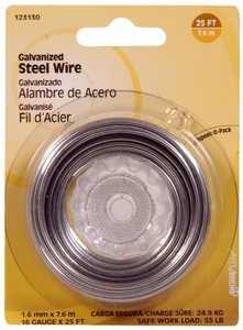 Hillman 123130 16 Gauge - Galvanized Wire
