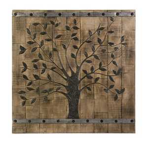 Imax Corp 73075 Tree Of Life Wood Wall Panel