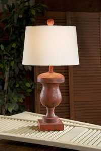 Imax Corp 29515 Red Birmingham Table Lamp