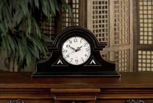 Imax Corp 2631 Black Mantel Clock