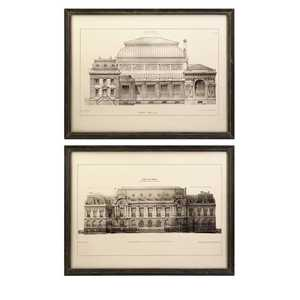Imax Corp 27568-2 Duvall Framed Wall Prints - Set Of 2