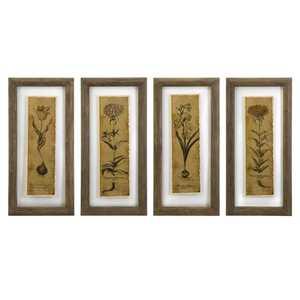 Imax Corp 27523-4 Cassander Double Glass Print Wall Art - Set Of 4