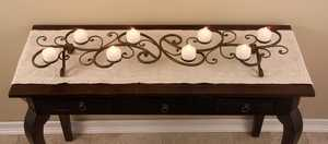 Imax Corp 1005 Scrollwork Tabletop Candleholder