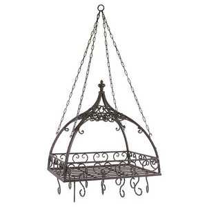 Imax Corp 7784 Domed Pot Rack With Hooks