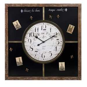 Imax Corp 27308 Paris Chalkboard Clock With Magnets