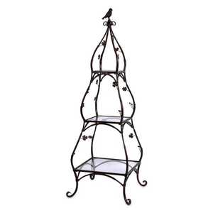 Imax Corp 47001 Etagere With Bird And Flowers